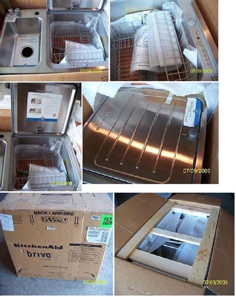 briva in sink dishwasher ebay kitchenaid briva sink dishwasher on ebay