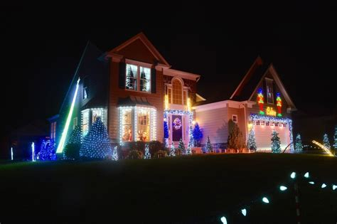 cape henlopen christmas lights lighting the night at christmas time cape gazette
