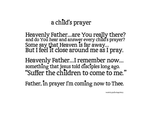 printable children s prayers a child s prayer printable honeybear lane