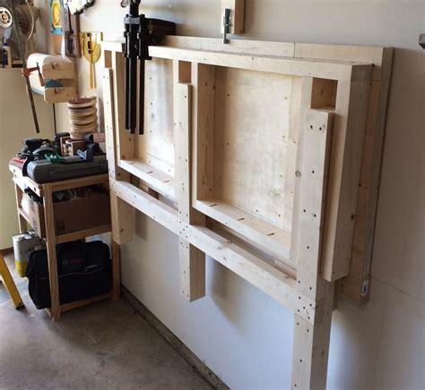 fold  workbench   small garage shop  rwolinski