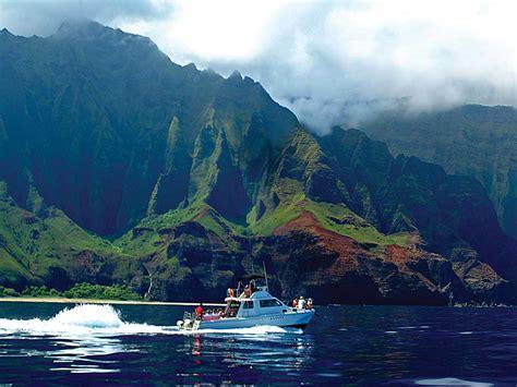 napali coast boat tours reviews makana charters na pali coast boat tours