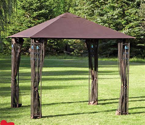 8x8 Gazebo Canopy Replacement Lowes by 8 X 8 Gazebo Canopy Rainwear