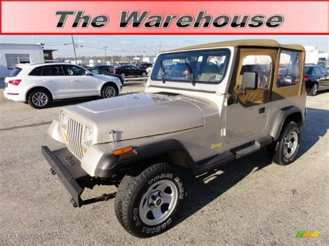 1995 light pearlstone pearl jeep wrangler grande 4x4 57695504 gtcarlot car color