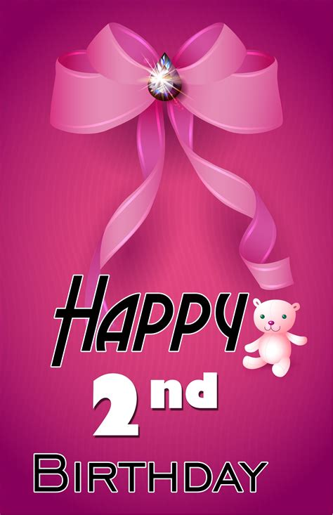 Happy 2nd Birthday Wishes 2nd Birthday Wishes