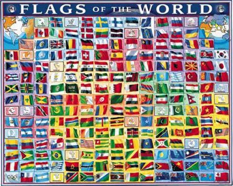 flags of the world poster flags of the world poster white mountain puzzles
