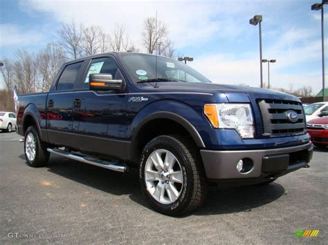 2009 Ford F150 by 2009 Blue Pearl Metallic Ford F150 Fx4 Supercrew 4x4