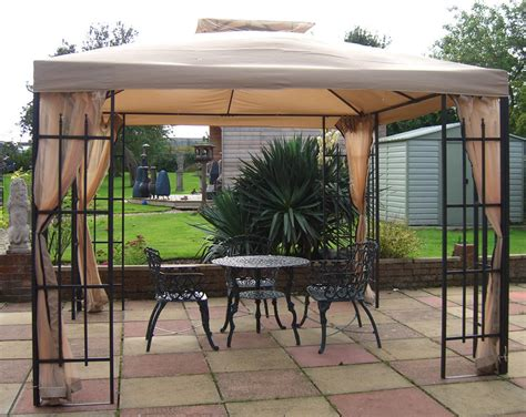 ideas metal gazebo with curtains the epic design metal