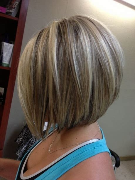 medium length stacked haircuts stacked hairstyles for medium length hair