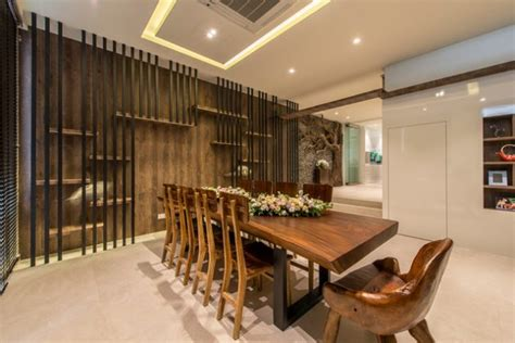 captivating asian style dining room