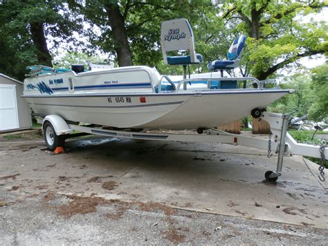 aluminum deck boat for sale sea nymph deck boat 1994 for sale for 8 500 boats from
