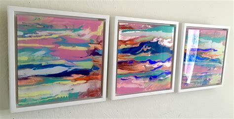 Painting Handmade - abstract original painting on plexiglass handmade