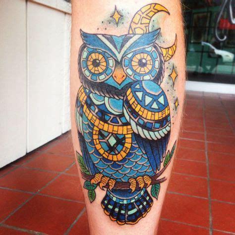 owl tattoo calf tattoo ideas of the week september 17 2014