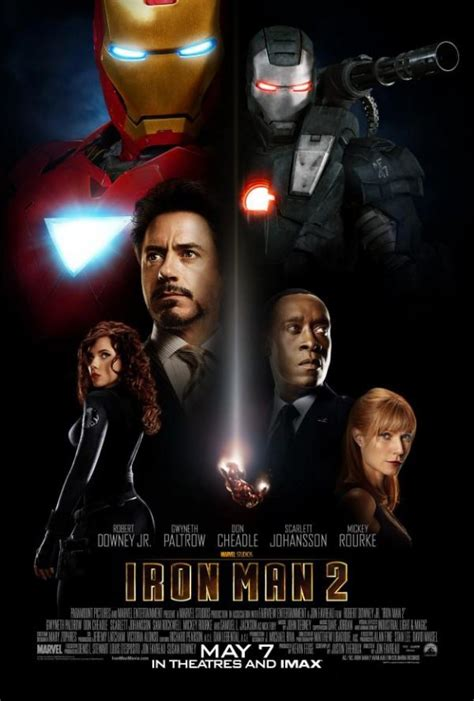 iron man 2 official iron man 2 poster is passably effective