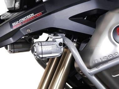 soporte bmw rgs faros auxiliares sw motech  moto