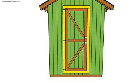 shed door plans free garden plans how to build garden projects