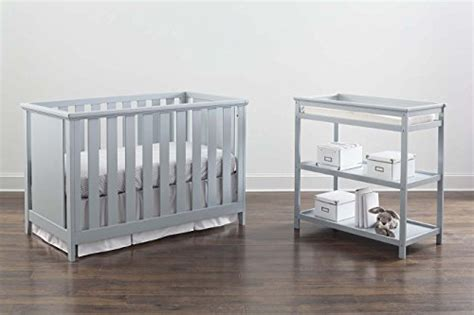 baby changing table guard rail imagio baby casey 3 in 1 cottage crib and changer set