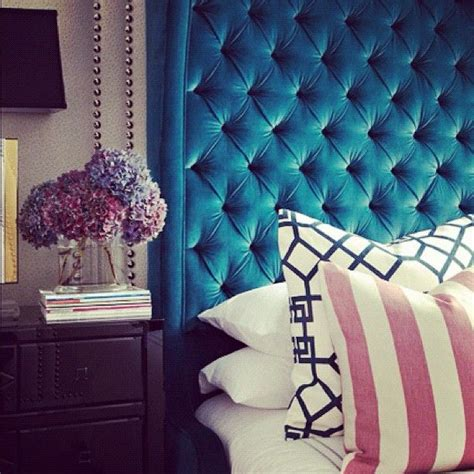 teal velvet headboard 25 best ideas about teal headboard on pinterest