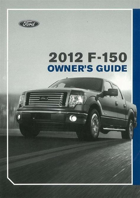car owners manuals for sale 2012 ford f series super duty on board diagnostic system 2012 ford f 150 owners manual user guide ebay