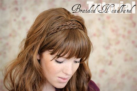 cute hairstyles headband braid the freckled fox hair tutorial braided headband