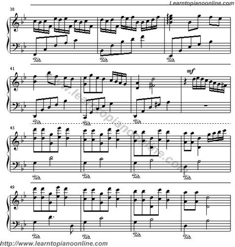 secret piano chords secret garden dreamcatcher 3 free piano sheet