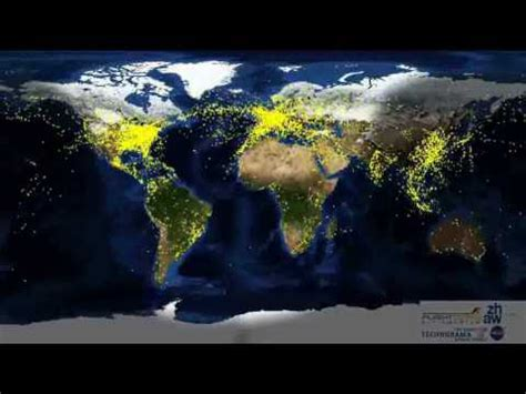 Buku Why The Earth Bumi Free Sul aircraft movements from space flugbewegungen aus dem all