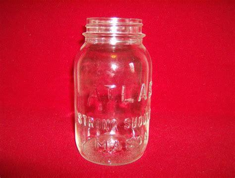 atlas strong shoulder mason jar quart from marysmenagerie on ruby lane