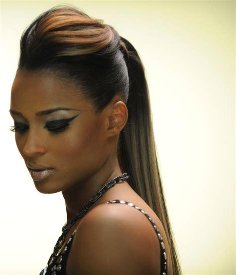 bump updo hairstyles for black women celebrity hair on pinterest angela simmons black hair