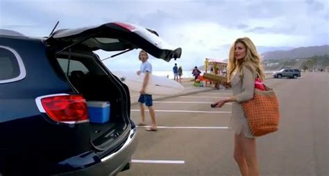 Who Is Girl In Buick Commercial Yahoo Answers | who is the buick enclave bikini girl
