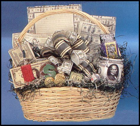 Money Origami Basket - disguising the gift of money sociological images