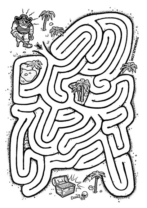 in an coloring book with relaxing and beautiful coloring pages books pirate maze thinkmaze beautiful mazes on the web