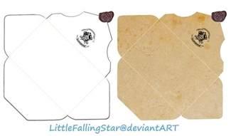 harry potter envelope template hogwarts envelope by littlefallingstar on deviantart