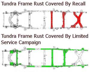 Toyota Tundra Frame Recall Toyota Extends Rust Perforation Warranty For Some Tacoma