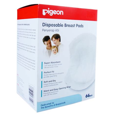 Sale Pigeon Disposable Breast Pad 36 Pcs Penyerap Asi 1 pigeon disposable breast pad 66 pcs 171 baby shop sg baby products singapore