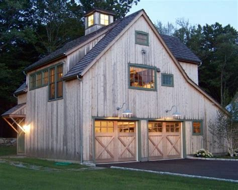 barn style garage with apartment plans barn garage beautiful garages pinterest