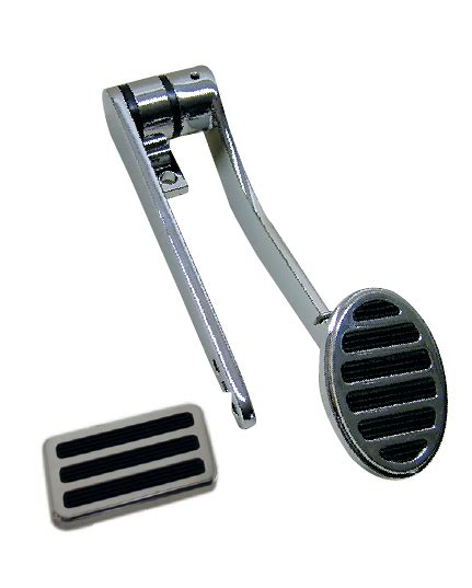 Pedal Bearing Oval By Mybikestore chrome oval throttle pedal with optional brake pedal