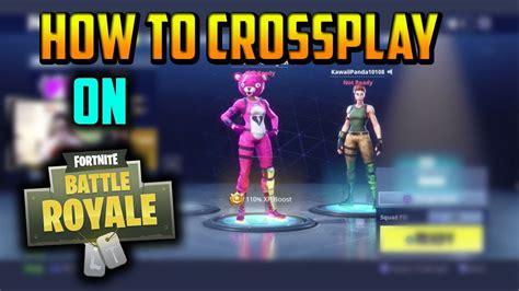 how fortnite crossplay works fortnite guide how to crossplay on fortnite works on pc