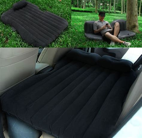 inflatable car backseat air mattress the green head