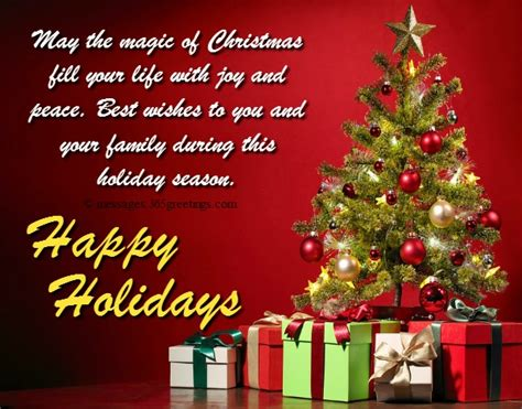 happy holiday wishes   messages greetingscom