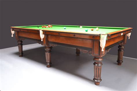 quarter size pool table antique billiard and snooker tables for sale restored