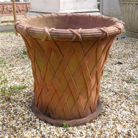 Outdoor Clay Pots by Large Garden Planters Sale Home Outdoor Decoration