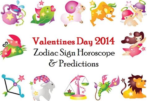 valentines day horoscope valentines day zodiac sign horoscope and predictions 2014