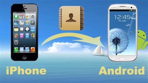 iphone contacts to android iphone contacts to android transfer how to copy contacts from iphone to android phone