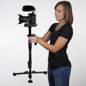 stedi cam steadicam solo video camera stabilizer black