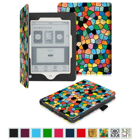 nook color covers barnes noble nook glowlight plus ereader 2015 leather