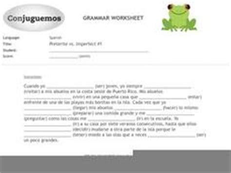 Preterite Vs Imperfect Worksheet by Preterite Vs Imperfect 1 9th 10th Grade Worksheet