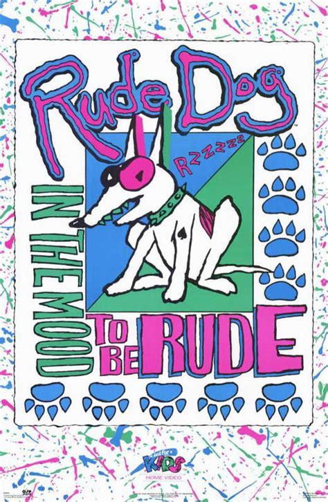 rude dogs rude in the mood to be rude posters from poster shop