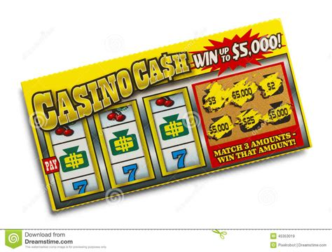 Dream About Winning Money On A Scratch Ticket - lottery ticket stock photo image 45353019