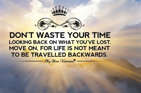 quotes about not looking back in life