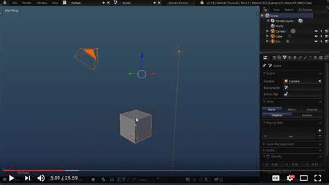 blender tutorial scene blender for beginners start up file scene manipulation