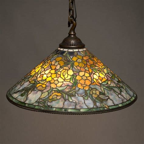 tiffany hanging l shade 15 best tiffany studios hanging shade exles images on